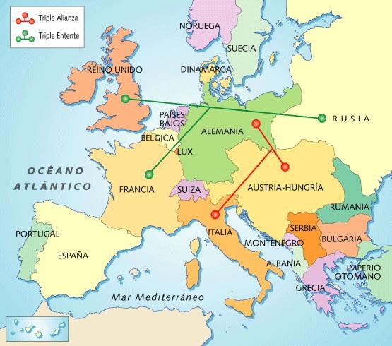 mapa de europa mudo. Mapa+europa+1900